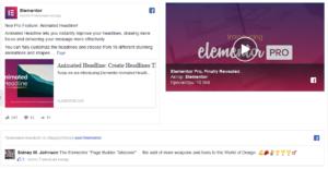 facebook в конструкторе сайта